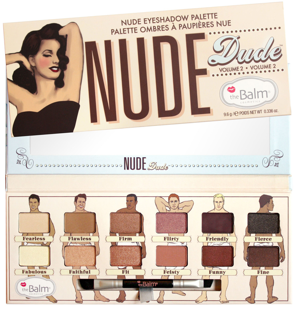 theBalm Paletten Nude Dude Eyeshadow Palette 1 Stck. 838366