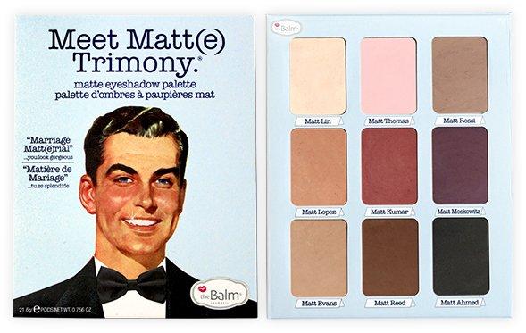 Meet Matt(e) Trimony.® Matte Eyeshadow Palette