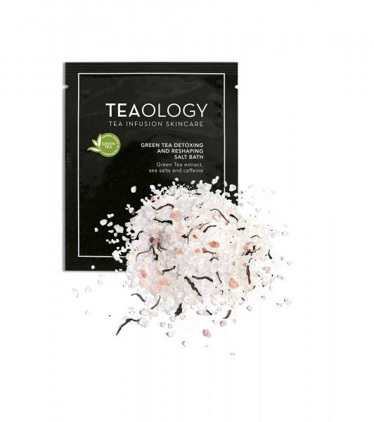 Green Tea Detoxing and Reshaping Salt Bath sachets