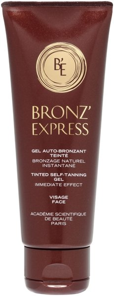 Bronz'Express Gel Auto-Bronzant Teinte Tinted Self-Tanner Gel