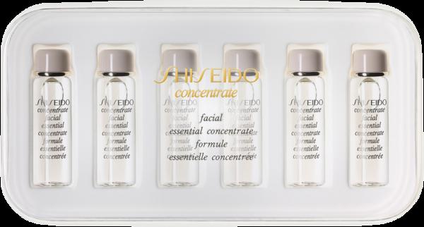Facial Essential verstärkt die Wirksamkeit des täglichen Hautpflege-Programms durch spezielle Pflegewirkstoffe, die mit den vorhandenen körpereigenen Substanzen auf natürliche Weise harmonieren