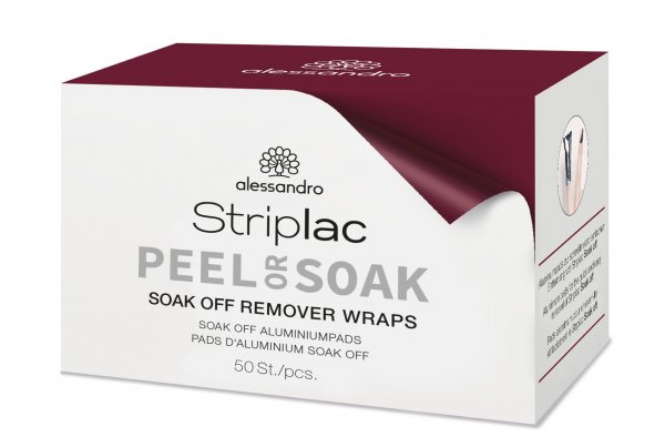 Soak-Off Remover Wraps