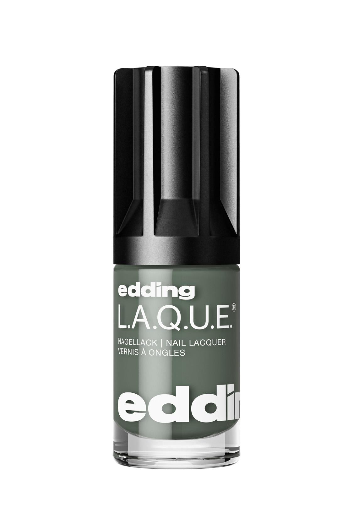 edding L.A.Q.U.E. Nagellack Nail Lacquer 8 ml Kind Khaki 809604