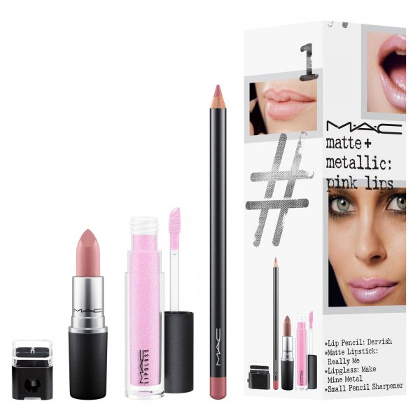 Matte + Metallic: PINK LIPS