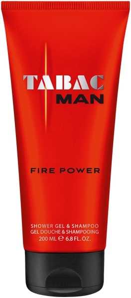Tabac Fire Power Shower Gel & Shampoo 150 ml 827721