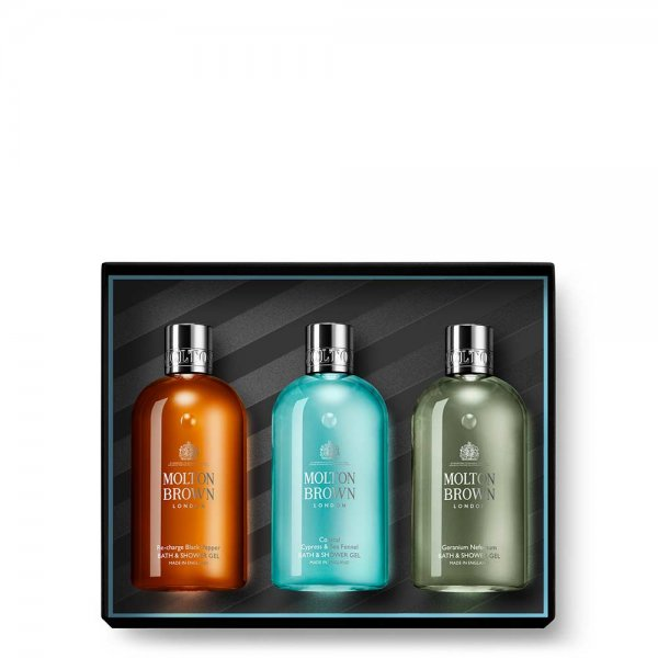 Spicy & Aromatic Bath & Shower Gift Set