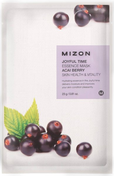 Joyful Time Essence mask pack ACAI BERRY