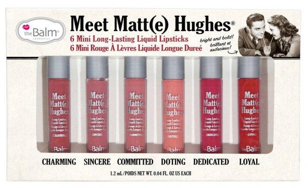 Meet Matt(e) Hughes™ 6 Mini Long-Lasting Liquid Lipsticks Vol. I