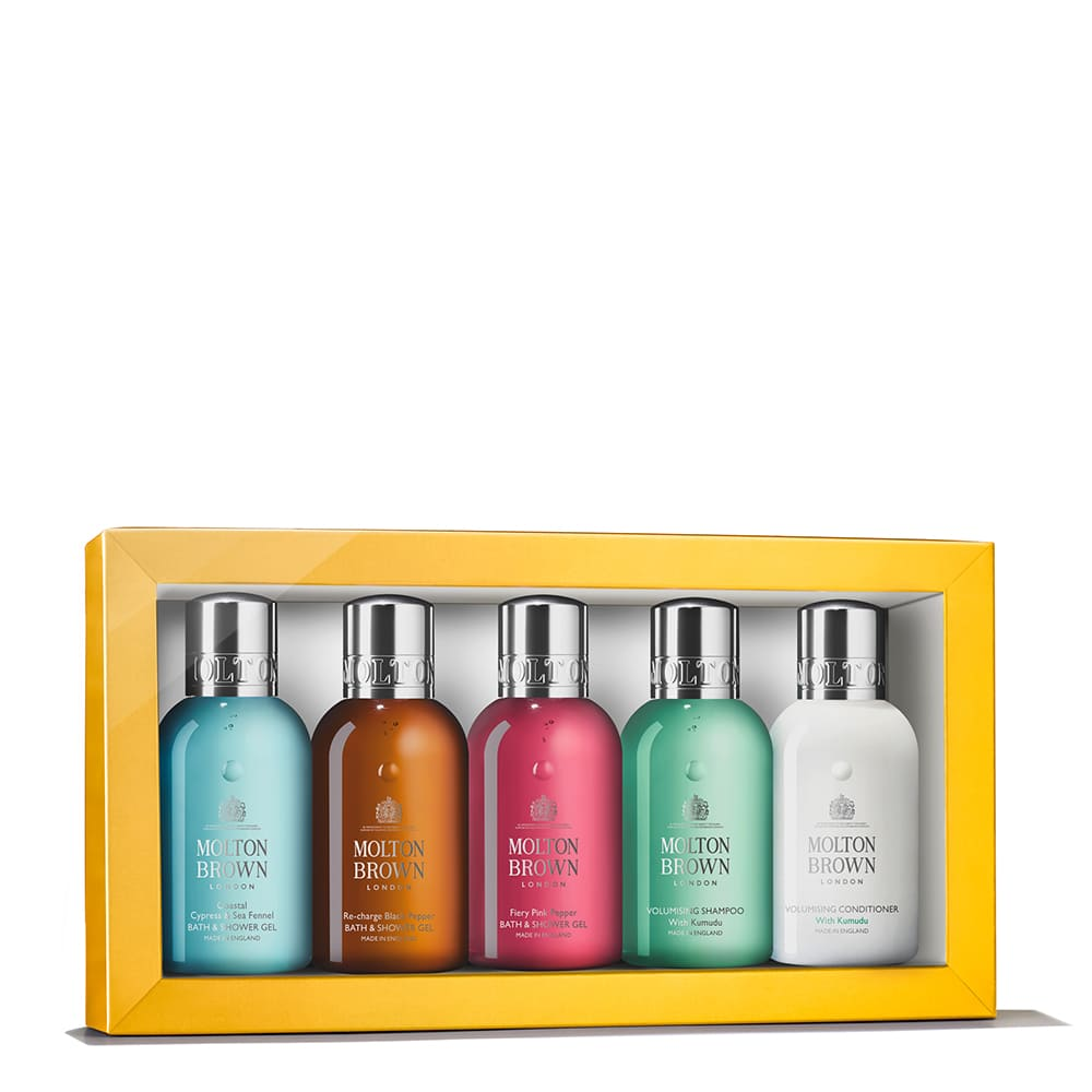 Molton Brown Reise-Sets The Body & Hair Travel Gift Set 5 Stück 867170