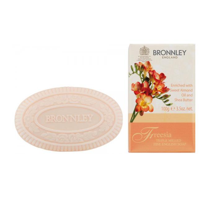 Bronnley Freesia Triple Milled Fine English Soap 100 g 728972