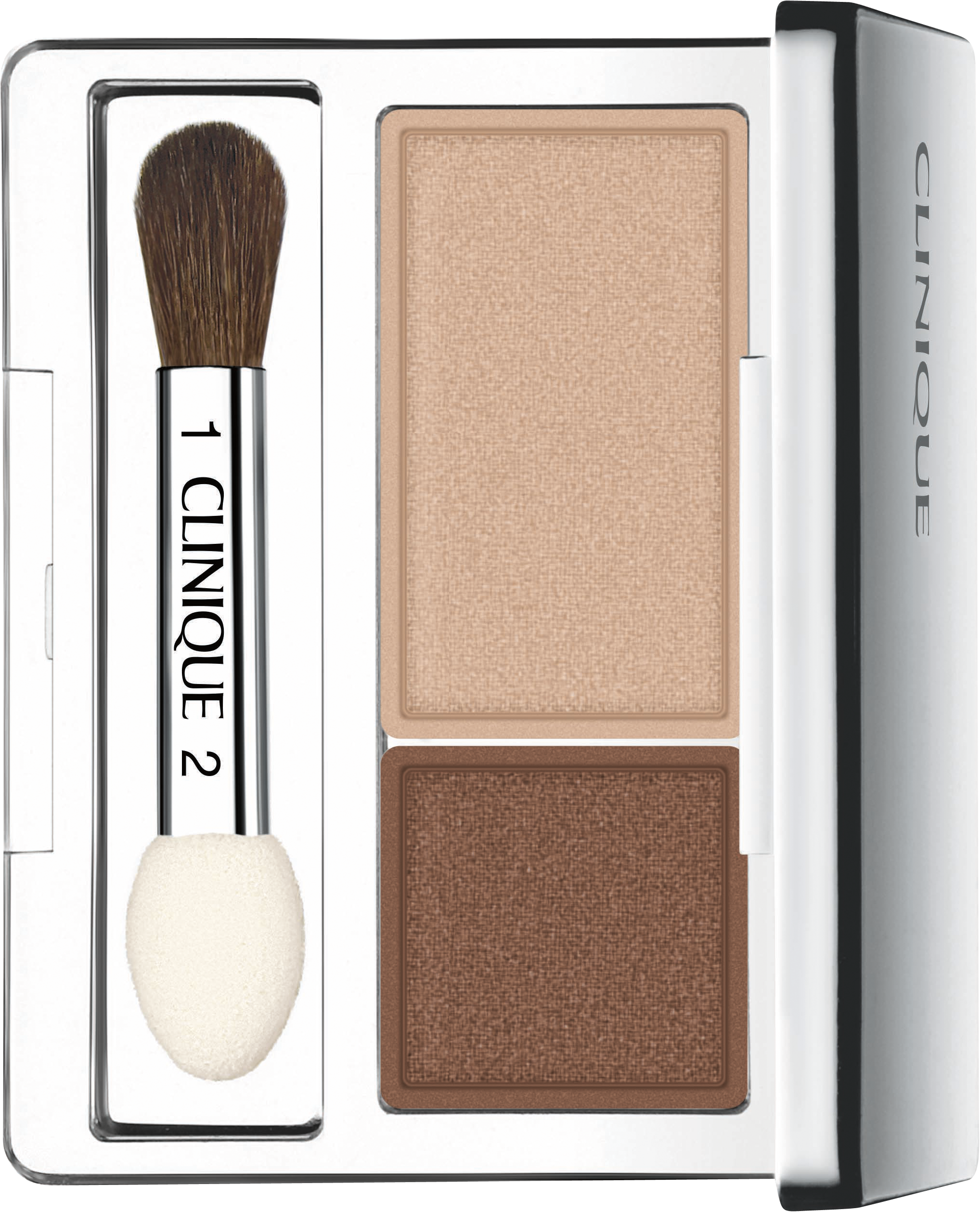 Clinique Augen-Makeup All About Shadow Duo 2 g Jeans and Heels 771705