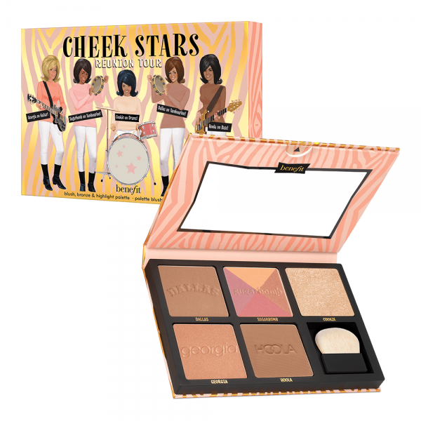Cheek Stars Reunion Tour Blush, Bronzer & Highlighter Palette