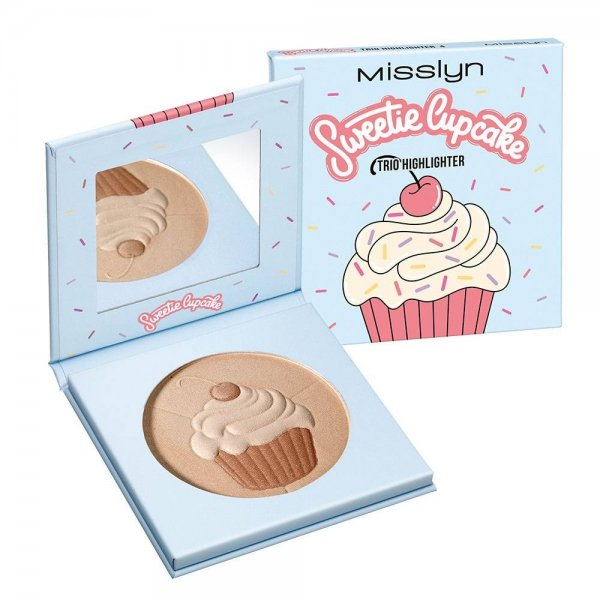 Sweetie Cupcake Trio Highlighter