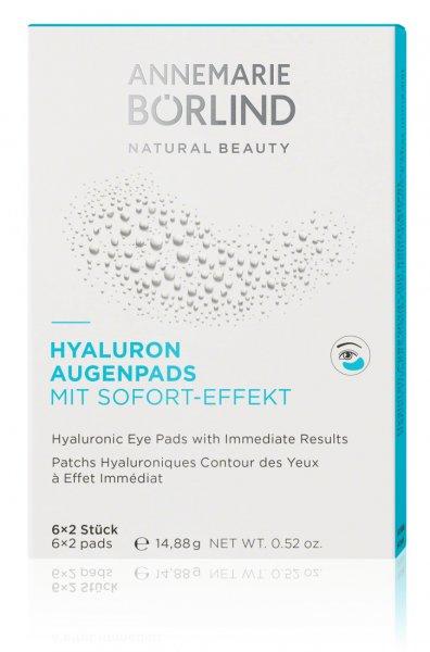 Hyaluron Augenpads mit Sofort-Effekt