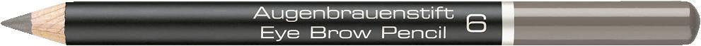 ARTDECO Augenbrauen Augenbrauenstift 1 Stck. Medium Grey Brown 698603