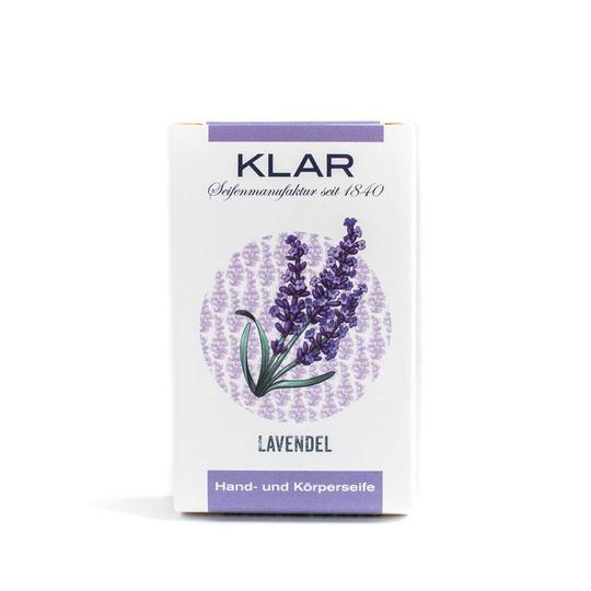 KLAR Seifenmanufaktur Palmölfreie Seifen Lavendelseife 100 g 856905