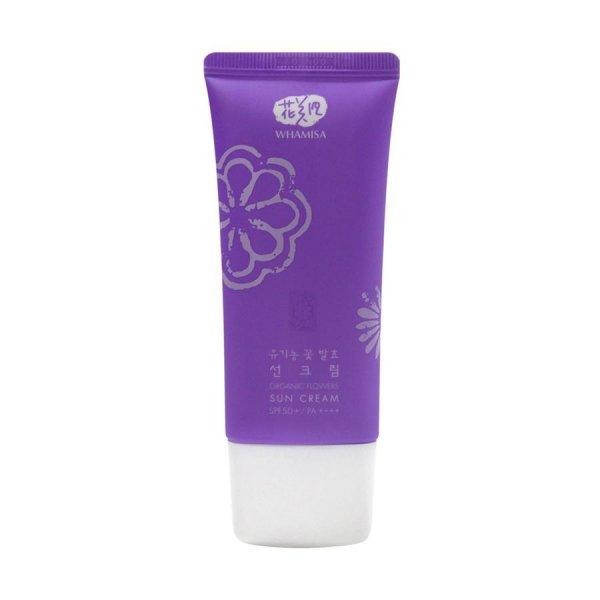 Organic Flowers Sun Cream SPF 50