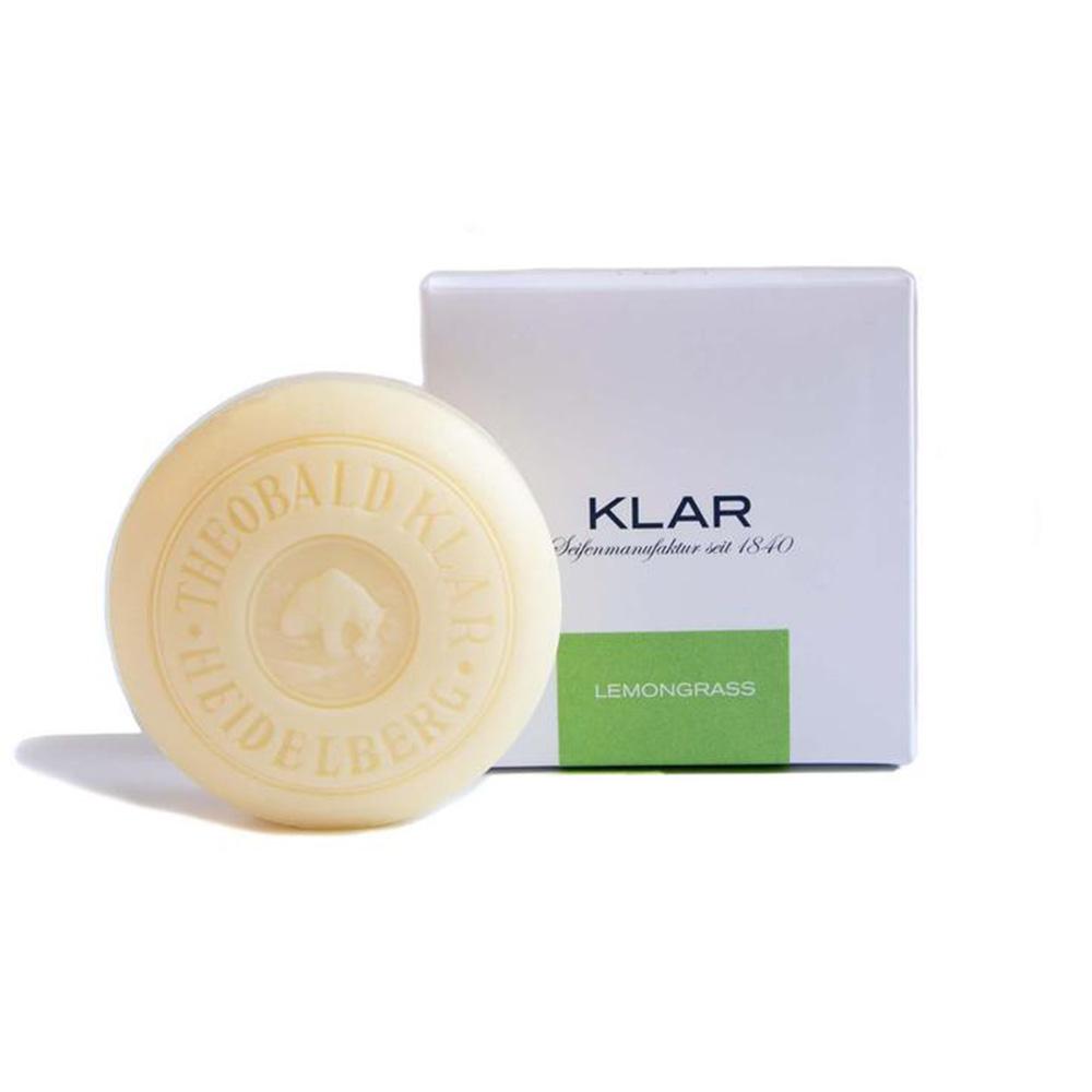 KLAR Seifenmanufaktur Badeseifen Lemongrassseife Palmölfrei 150 g 868760