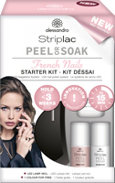 Striplac Peel or Soak Starter Set